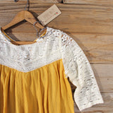 Gypsy Marigold Top: Alternate View #3