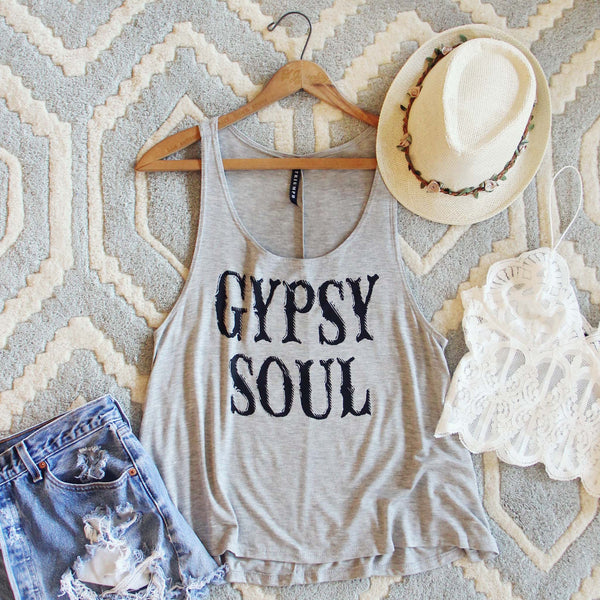 Gypsy Soul Tank: Featured Product Image