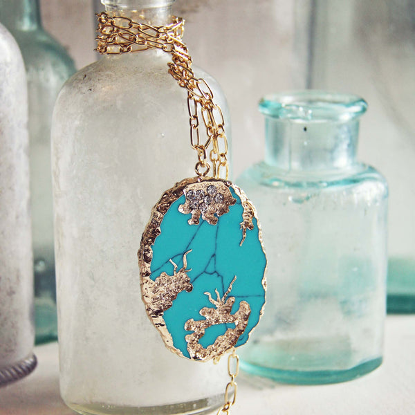 Gypsy Wind Turquoise Necklace: Featured Product Image