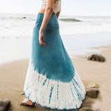 Gypsy Wrap Maxi Skirt: Alternate View #2