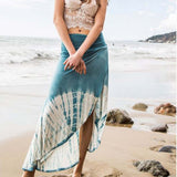 Gypsy Wrap Maxi Skirt: Alternate View #3