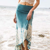 Gypsy Wrap Maxi Skirt: Alternate View #4