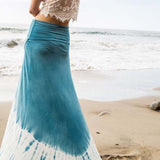 Gypsy Wrap Maxi Skirt: Alternate View #5