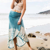 Gypsy Wrap Maxi Skirt: Alternate View #1