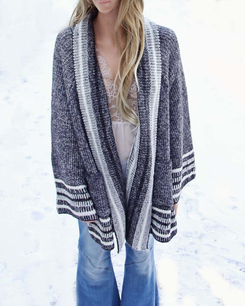 Haley Blanket Sweater: Featured Product Image