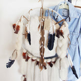 Handmade Large Feather Dreamcatcher: Alternate View #2