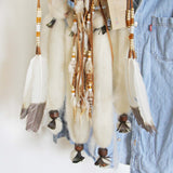Handmade Medium Feather Dreamcatcher: Alternate View #3