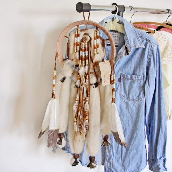 Handmade Medium Feather Dreamcatcher: Featured Product Image