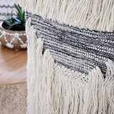 Hand-Woven Wall Hanging in Stone: Alternate View #3