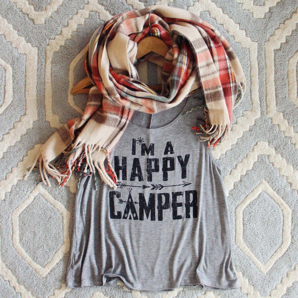 Happy Camper Tank: Featured Product Image