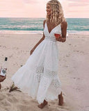 Harlee Eyelet Maxi Dress: Alternate View #1