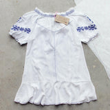 Harlow Embroidered Tunic (wholesale): Alternate View #4