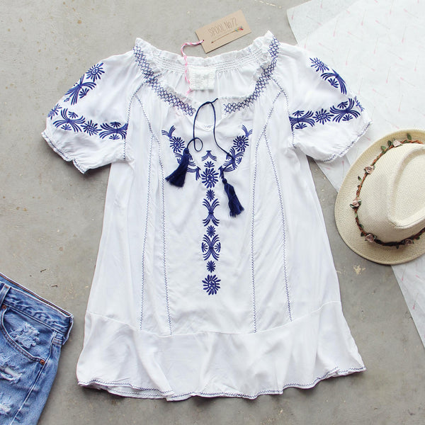 Harlow Embroidered Tunic: Featured Product Image