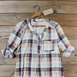Northerner Plaid Top: Alternate View #2
