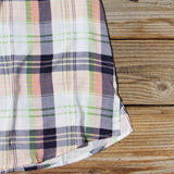 Northerner Plaid Top: Alternate View #3