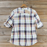Northerner Plaid Top: Alternate View #4
