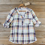 Northerner Plaid Top: Alternate View #1