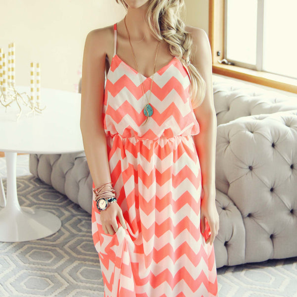 Los Cabos Maxi Dress: Featured Product Image