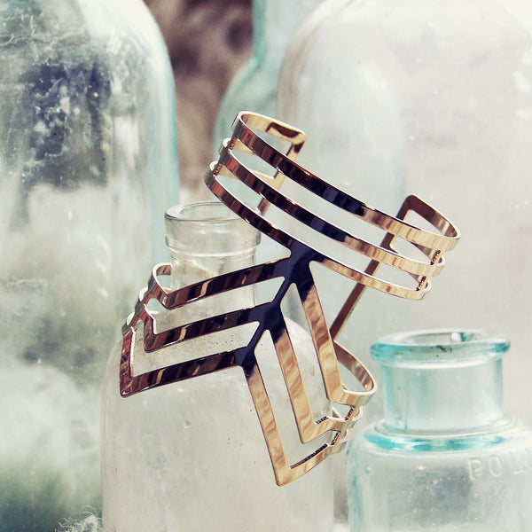 Hazy Lines Cuff: Featured Product Image