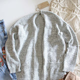 Heathered Cozy Sweater: Alternate View #3
