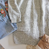 Heathered Cozy Sweater: Alternate View #4