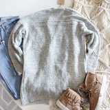 Heathered Cozy Sweater: Alternate View #5