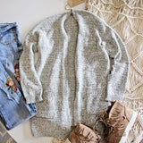 Heathered Cozy Sweater: Alternate View #6