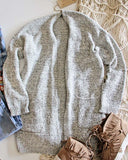 Heathered Cozy Sweater: Alternate View #1