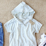 Heathered Lace Hoodie: Alternate View #2