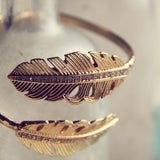 Heirloom Feather Bracelet: Alternate View #2