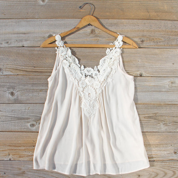 Hibiscus & Lace Top: Featured Product Image