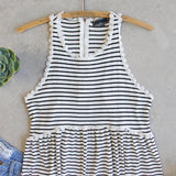 The Hideaway Stripe Tank: Alternate View #2