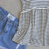 The Hideaway Stripe Tank: Alternate View #3