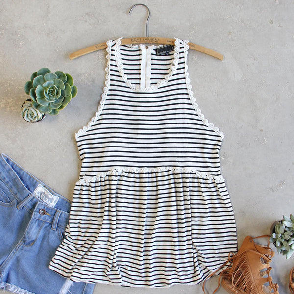 The Hideaway Stripe Tank: Featured Product Image