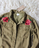 Highfield Military Shirt Jacket: Alternate View #2