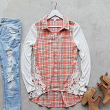 Honey Belle Button-up Top: Alternate View #1
