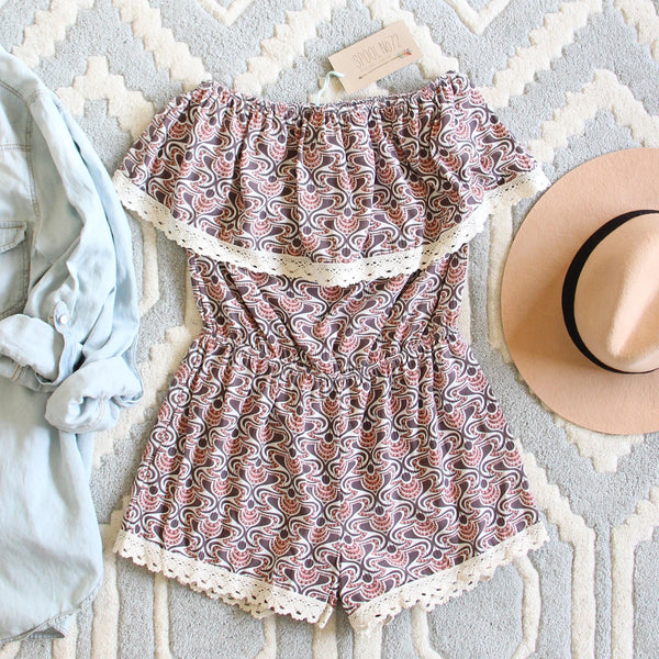 Honey Clover Romper: Featured Product Image