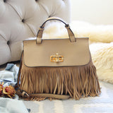 Honey Hush Fringe Tote: Alternate View #1