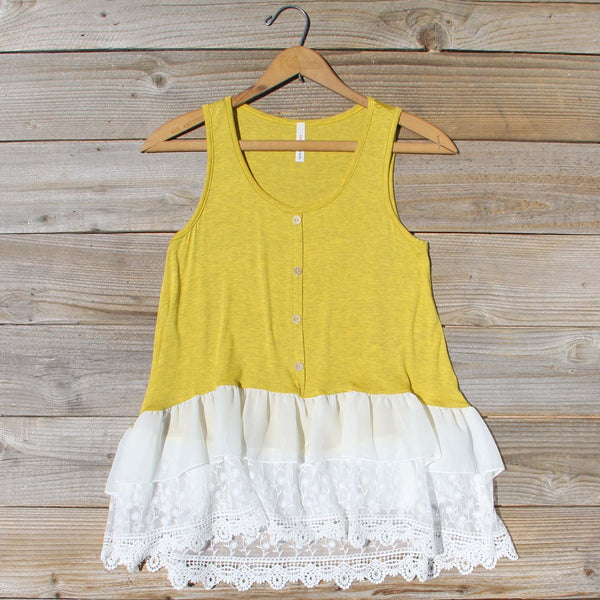 Honey & Lace Tank: Featured Product Image