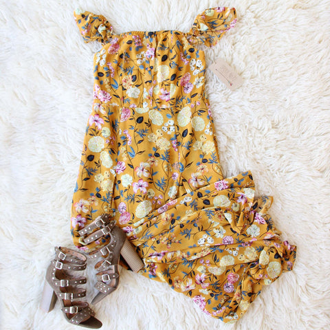 Honey & Vine Maxi Dress