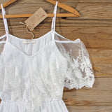 Honeyed Lace Romper: Alternate View #2