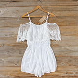 Honeyed Lace Romper: Alternate View #4
