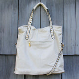 Honeysett Tote in Cream: Alternate View #4
