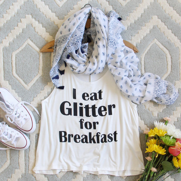 Glitter for Breakfast Tank: Featured Product Image