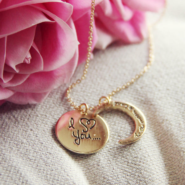 To the Moon & Back Necklace: Featured Product Image