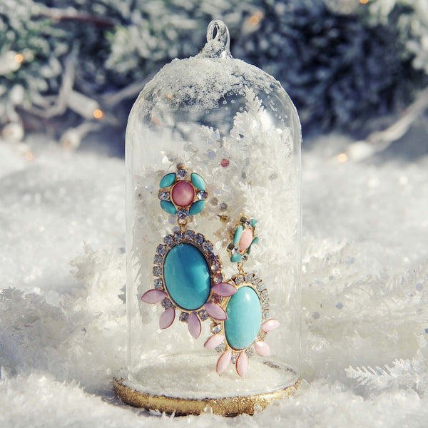 Ice & Glow Earrings: Featured Product Image