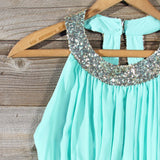 Ice Shadow Dress in Mint: Alternate View #3
