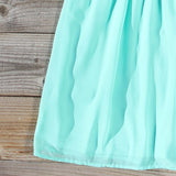 Ice Shadow Dress in Mint: Alternate View #4