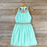 Ice Shadow Dress in Mint: Alternate View #2