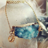 Iced Sky Necklace: Alternate View #2